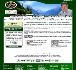 Kalispell Web Design: Call-Lamont