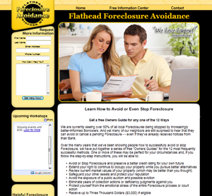 Kalispell Web Design: Flathead Foreclosure Avoidance