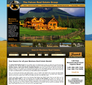 Kalispell Web Design: Falcon Real Estate Group