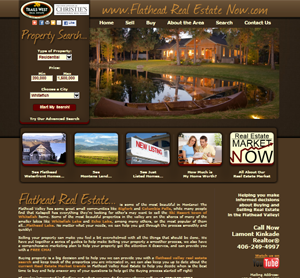 Kalispell Web Design: Flathead Real Estate Now