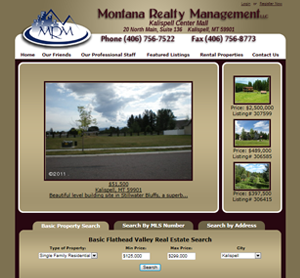 Kalispell Web Design: Montana Realty Management